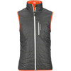 Ortovox M's Swisswool Light Piz Cartas Vest Black Steel